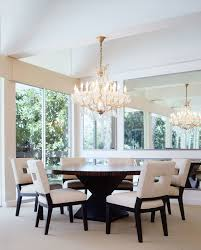 amazing refectory dining table with silver room contemporary light