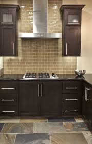 kitchen luxury mosaic kitchen backsplash for kitchen interior 24 best images about tile mostly backsplashes on pinterest i like the color of this glass subway tile backsplash with the dark cabinets