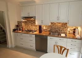 Kitchen Backsplash Ideas With White Cabinets  Railing Stairs And - White kitchen backsplash ideas