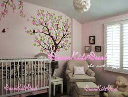 Tree Decal For Nursery Wall by Cherry Blossom Tree Wall Decals Nursery Wall Decals Children