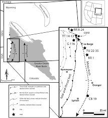 Map Of Colorado And Surrounding States by Stratigraphic Evaluation Of Reservoir And Seal In A Natural Co2