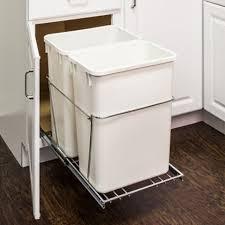 54 99 no bins 35 quart pullout trash bin system for 18