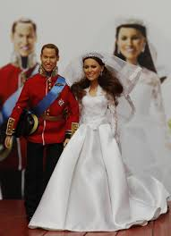 new kate middleton and prince william wedding dolls released photos