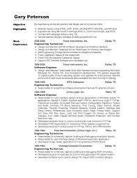 Resume Samples Of Software Engineer by Modem System Test Engineer Sample Resume Haadyaooverbayresort Com