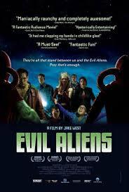 Evil Aliens poster