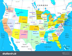United States Map Major Cities by Us Major Cities Map Of With Cities United States In Map Of Canada