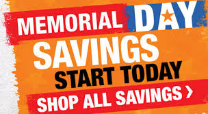 home depot black friday spring 2016 ad home depot memorial day sale 10 off gallon paint cans 40 off 5
