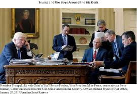 trump desk the buzz gathering around the resolute desk