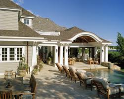 Outdoor Patio With Roof by Outdoor Patio Design Cape Cod Morehouse Macdonald And Associates