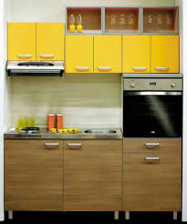 dining room small yellow kitchen cabinet tiny modern yellow wood