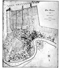 Map New Orleans French Quarter by An Illustrated Map Of The Sites Of The Axeman U0027s Crimes History