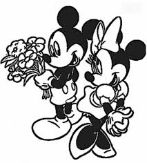 minnie and mickey valentine coloring pages valentine coloring