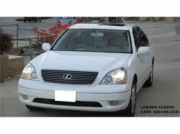 lexus ls ultra luxury package 2002 lexus ls430 for sale classiccars com cc 1013523