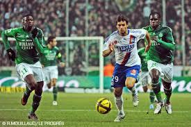 Saint-Etienne - Lyon vidéo buts 1-4