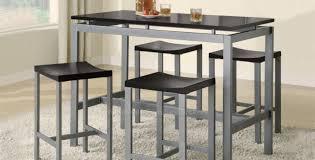 dining room modern bar height kitchen table wonderful tall