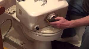 Kohler Toilet Seat Replacement Parts How To Replace A Toilet Flush Valve Tank To Bowl Leak Youtube