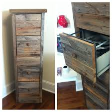 awesome way to make an old file cabinet looking rustic and amazing
