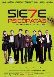 Siete psicopatas y un perro (2012)