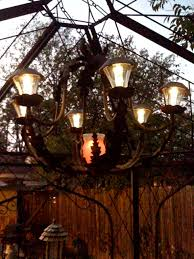 Outdoor Lighting Fixtures For Gazebos by Make Your Own Diy Solar Chandelier Check Out Kat U0027s Awesome Gazebo