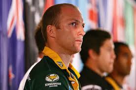 Darren Lockyer Kangaroos captain Darren Lockyer attends a 2008 Rugby League ... - 2008 Rugby League World Cup Press Conference u_3rCL1mtzql