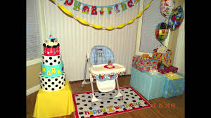 Youtube Home Decor by Home Decor Baby Birthday Party Decoration Ideas Youtube