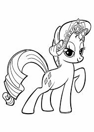 My Little Pony Colouring Pages Little Coloring Pages Wecoloringpage Rainbow Dash