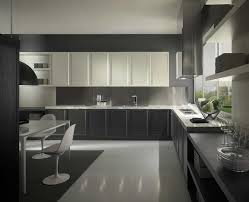 grey kitchen cabinets with white appliances grey metal chrome