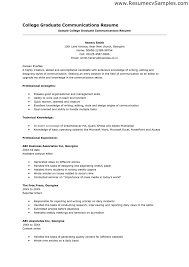 High School Resume For College Template  template high school