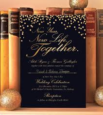 design our day wedding stationery new year u0027s eve wedding invitation