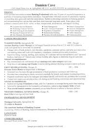 Financial Resume Sample by Banking Executive Resume Example Financial Services Resume Samples