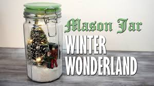 Homemade Christmas Decorations by Diy Mason Jar Winter Wonderland Snowglobe Scene Homemade