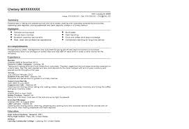 Coffee Barista Resume Sample   Quintessential LiveCareer Click here to view this resume