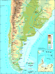 Physical Map Of South America by Maps Of Argentina Map Library Maps Of The World