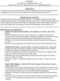 Cover Letter  Real Estate Specialist with Experience and Education     Rufoot Resumes  Esay  and Templates