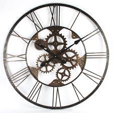 large skeleton wall clocks