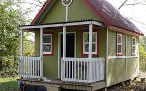 Tiny House Cottage 192 Square Foot Home For Two Small House Living Tour In Law