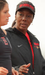 San Diego State MileSplit The San Diego State track and field team has released its      recruiting class  head coach Shelia Burrell announced today