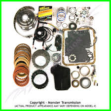 4l60e mega monster transmission complete rebuild kit 1993 97
