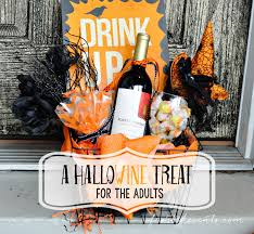 homemade halloween gifts diy hallowine treat for moms you u0027ve been booed