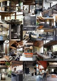 diy house build modern rustic interior threadbare cloak