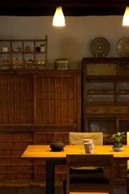 Japanese Kitchen Design Kitchen Style Wall Mounted Hanging Pot Rack Asian Kitchen Design