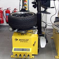 dunlop dtm185hd fully automatic tyre machine