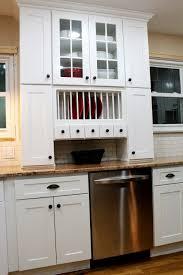 ice white shaker kitchen