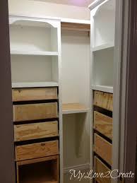How To Make Closet Shelves by Remodelaholic Amazing Diy Master Closet Renovation