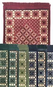 Islamic Prayer Rugs Wholesale Plush Islamic Prayer Rug With Pyramid Mihrab And Cloves Muslim