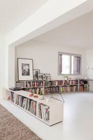 White Short Bookcase by Best 25 Low Shelves Ideas On Pinterest Bookshelf Living Room