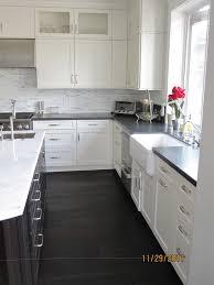 kitchen impressive l shape kitchen decoration design with black