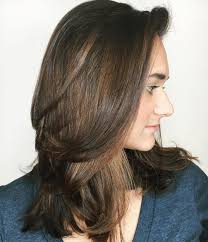 medium length straight hairstyles for round faces 60 most beneficial haircuts for thick hair of any length