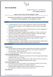 Profile Section Of Resume Examples by Example Template Of An Experienced Chartered Accountant Resume