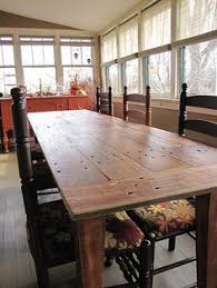 When Its Time For A New Tablewhen My Boys Grow Out Of Being - Barnwood kitchen table